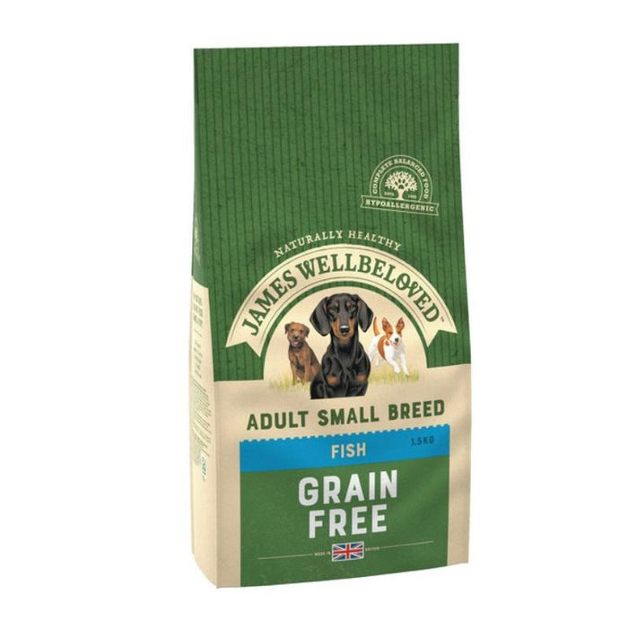 James Wellbeloved Fish Grain Free Small Breed Adult 1.5kg