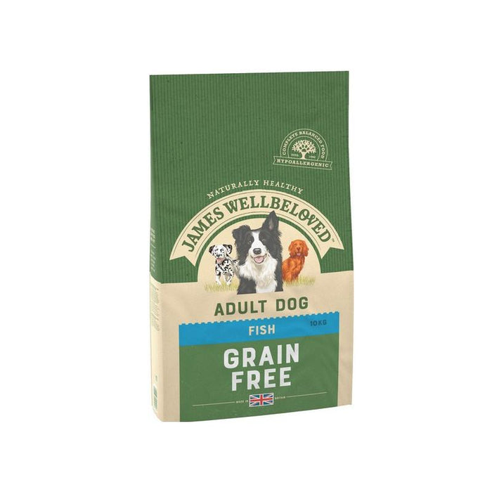 James Wellbeloved Fish & Veg Adult Grain Free 10kg
