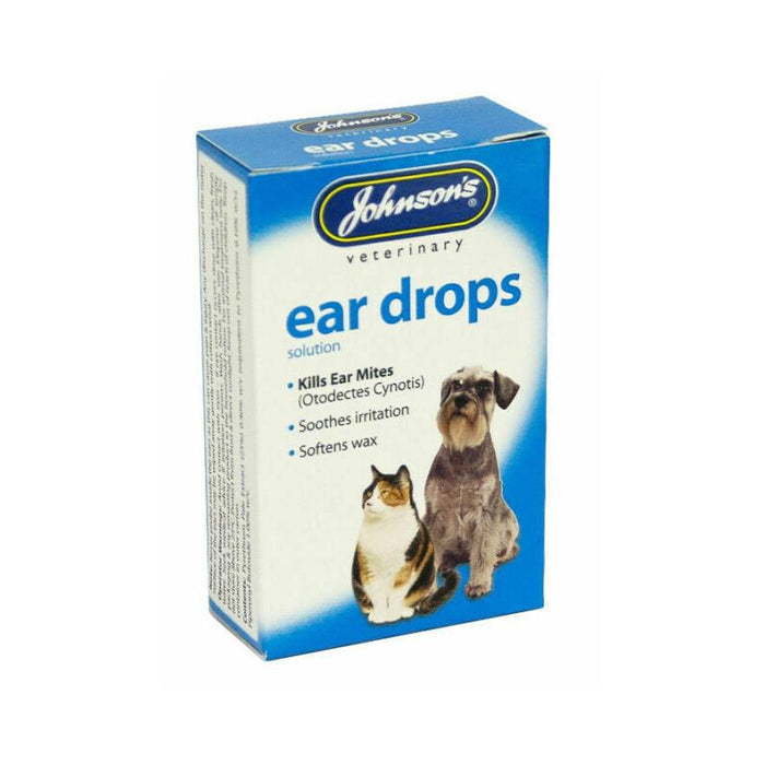 Johnsons Ear Drops Cats And Dogs 15ml