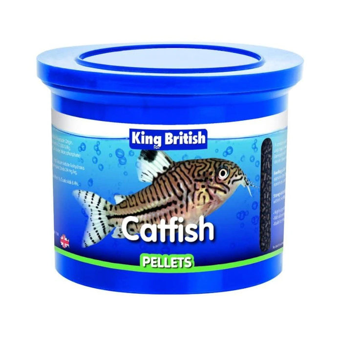 King British Catfish Pellets Various Sizes