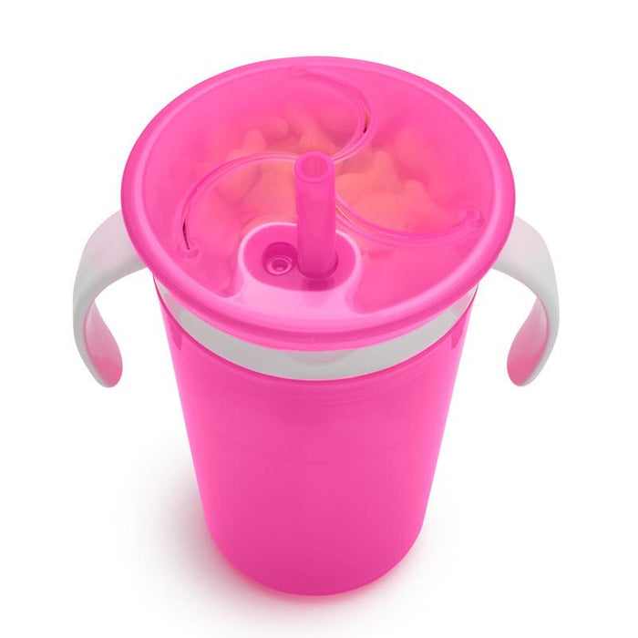 Munchkin Sippy Straw Cup and Snack Catcher