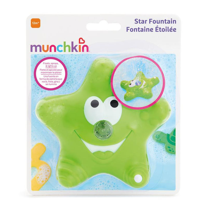 Munchkin Bath Squirting Star Fountain