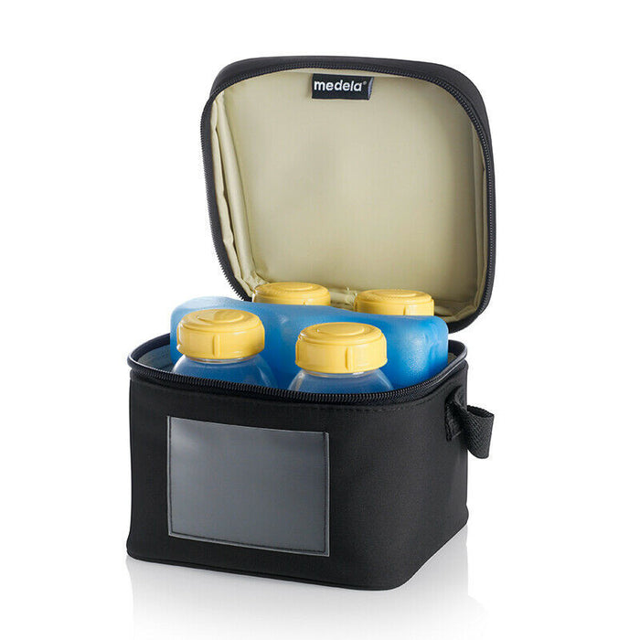 Medela Cooler Bag with 4 Bottles
