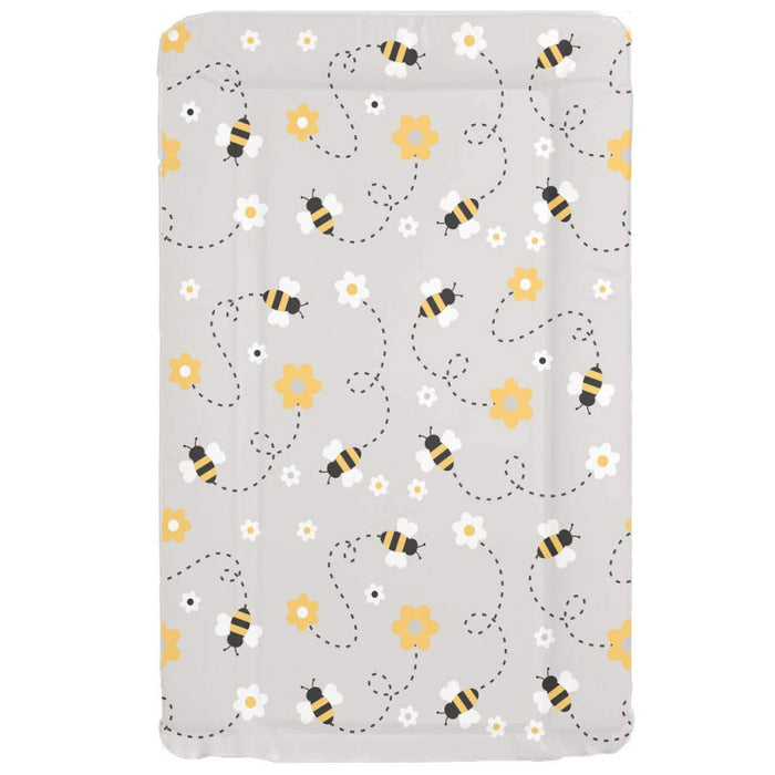 Mollydoo Baby Changing Mat Grey Bee