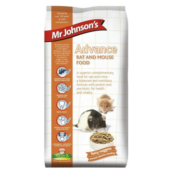 Mr Johnsons Advance Rat & Mouse Food 750g
