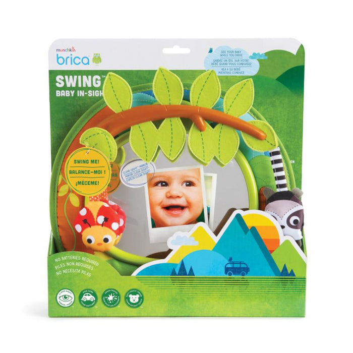 Munchkin Brica Swing Baby In-sight Rear View Mirror