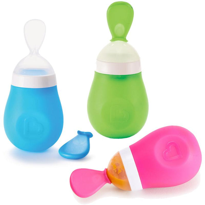 Munchkin Squeeze Baby & Toddler Feeding Spoon