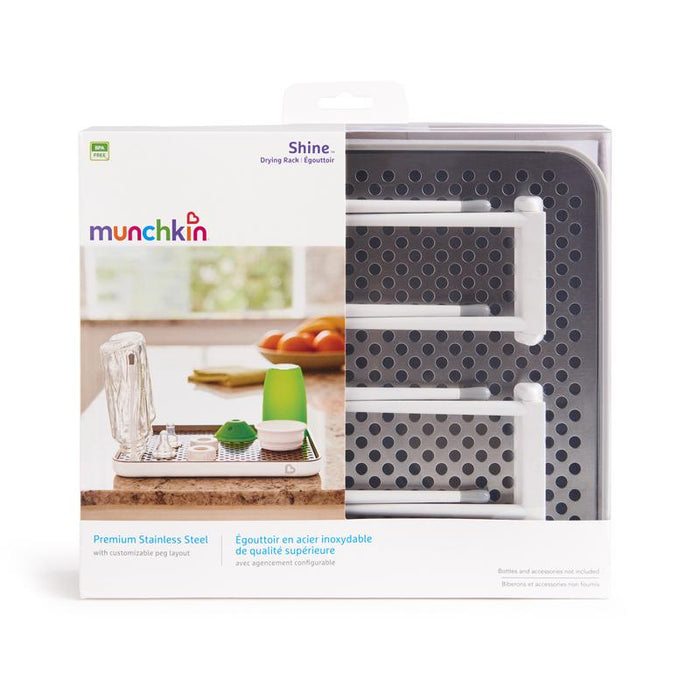 Munchkin Stainless Steel Bottle Drying Rack