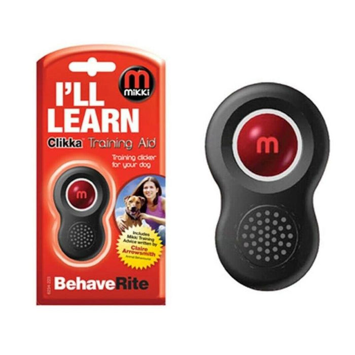 Mikki Clikka Clicker Dog Training Aid