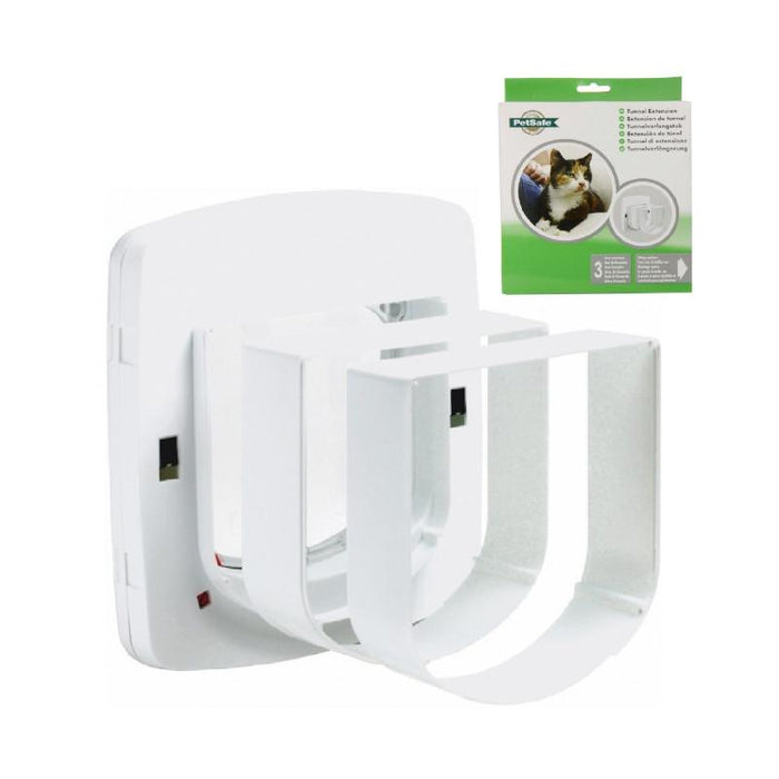 PetSafe Staywell Tunnel Extension 310 fits 300, 400 & 500 Cat Flap White