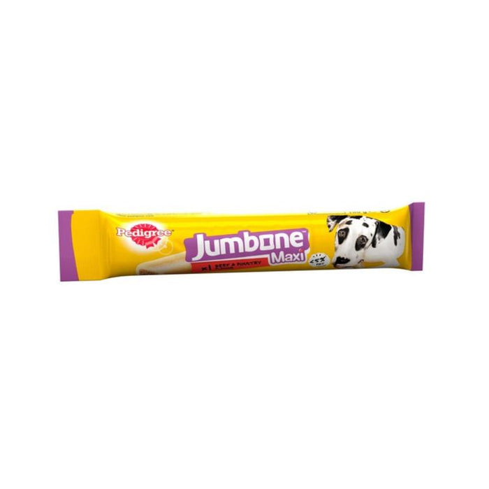 Pedigree Jumbone Large Dog Beef & Poultry Pack of 12