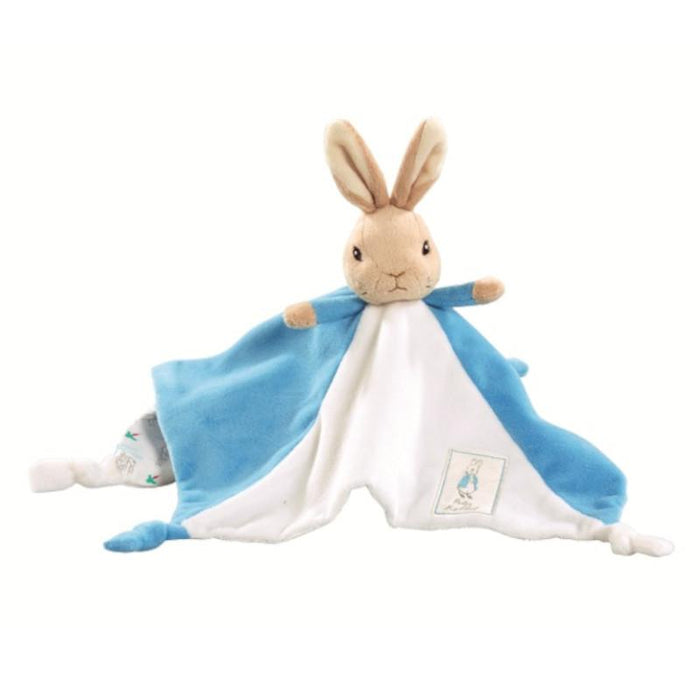 Peter Rabbit Comfort Blanket Baby Toy Blue