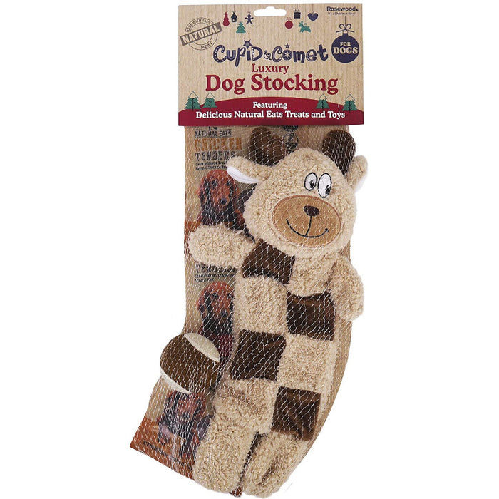 Rosewood Luxury Dog Christmas Stocking Natural Eats