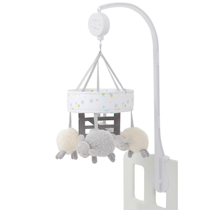 Silvercloud Counting Sheep Musical Cot Mobile