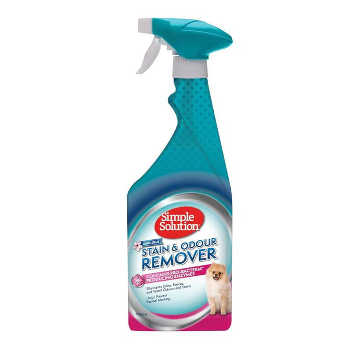 Simple Solution Stain and Odour Remover Spring Breeze 750ml