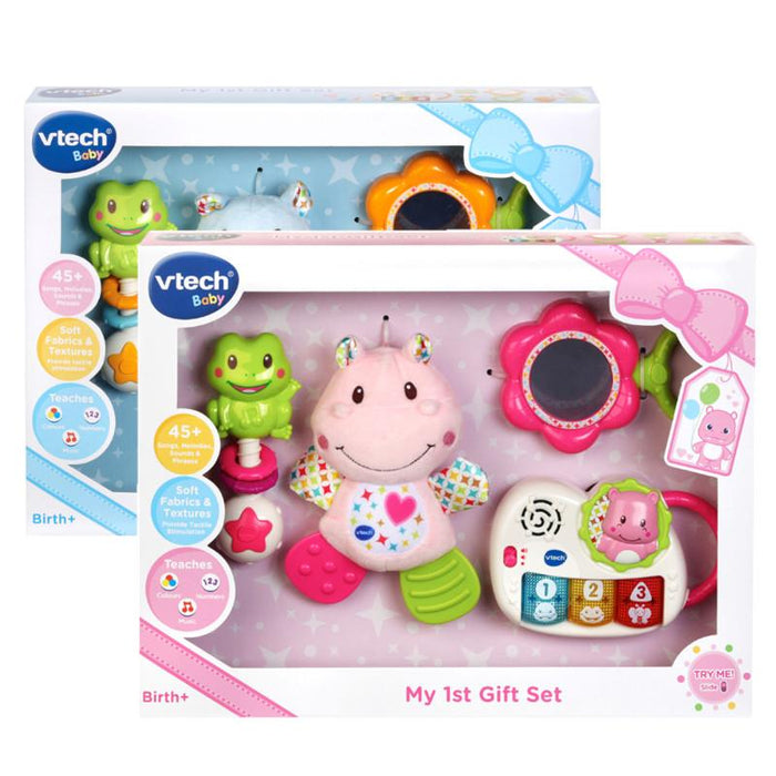 VTech Baby My 1st Gift Set Blue Or Pink