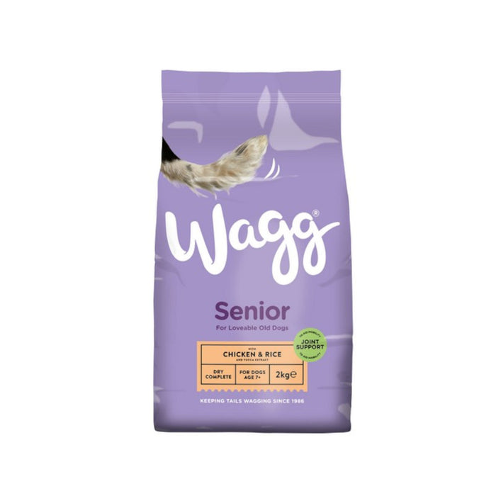 Wagg Complete Light and Senior Chicken and Rice 2kg