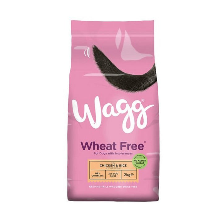 Wagg Wheat Free Chicken & Rice 2kg