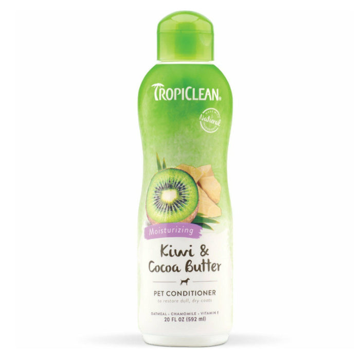 TropiClean Kiwi and Cocoa Butter Conditioner 592ml