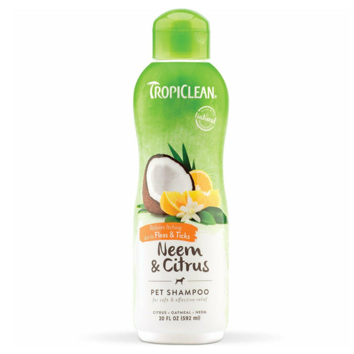 TropiClean Neem and Citrus Shampoo 592ml