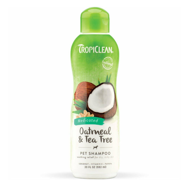 TropiClean Oatmeal and Tea Tree Shampoo 592ml