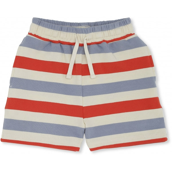 Lou  Shorts In Blue & Stripe