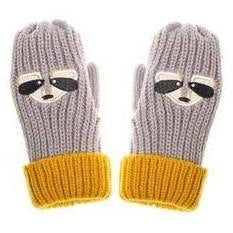 Ronnie Racoon Mittens 3 - 6 Years