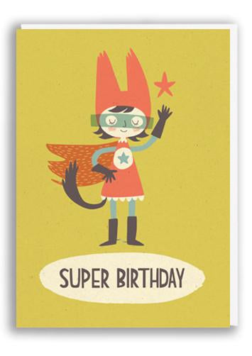 Super Birthday Card For A Girl