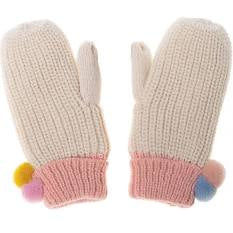 Dreamy Rainbow Bobble Mittens