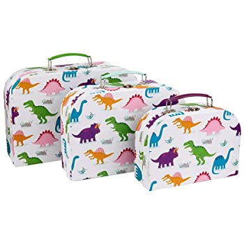 Roarsome Dinosaur Suitcases ( Set Of 3)