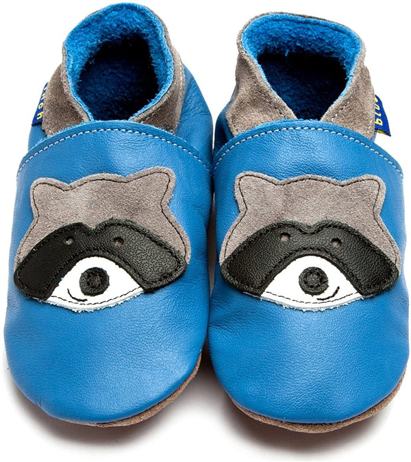 Raccoon Blue Baby Shoes