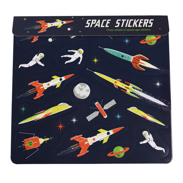 Space Age Sticker Sheets