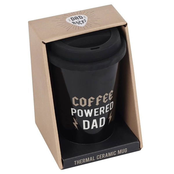 Coffee Powered Dad Travel Cup