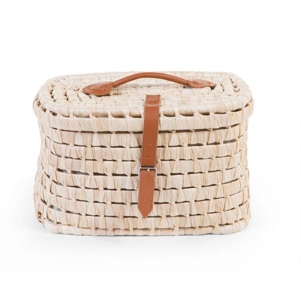Corn Husk Storage Baskets 2 in 1