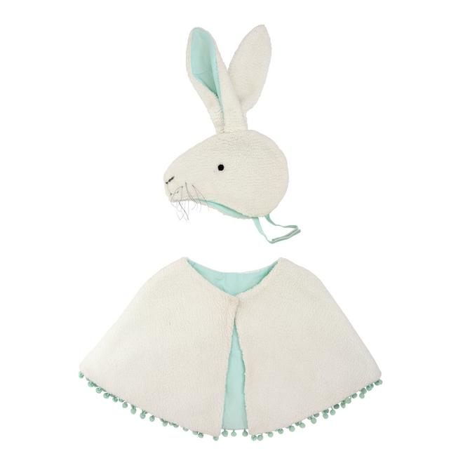 Sherpa Bunny Cape Dress Up