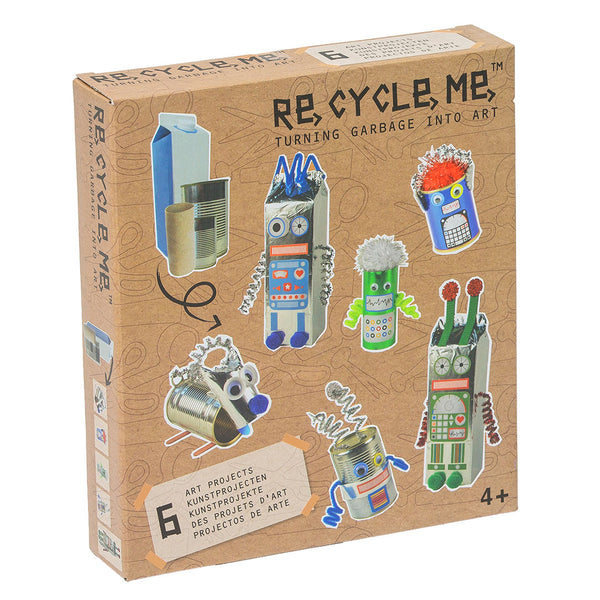 ReCycleMe Medium: Robot World