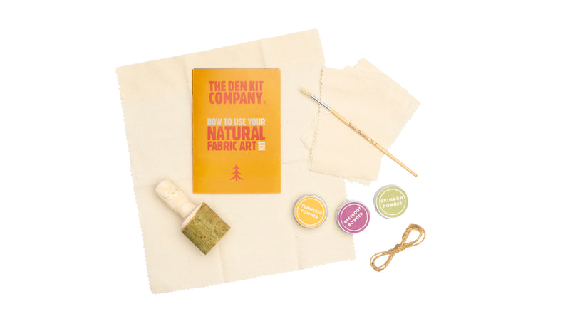 The Natural Fabric Art Kit