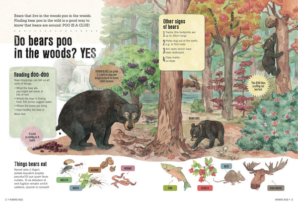 'The Clue Is In The Poo' Wildlife Book