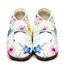 Mary Jane Posy Baby Shoes