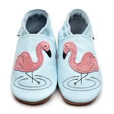 Flamingo Shoes (Baby Blue)