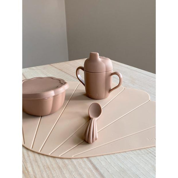 Silicone Snack Set Clam In Blush