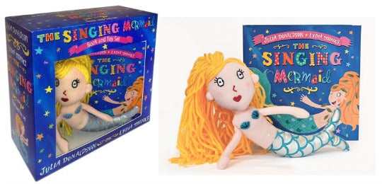 The Singing Mermaid Toy & Book
