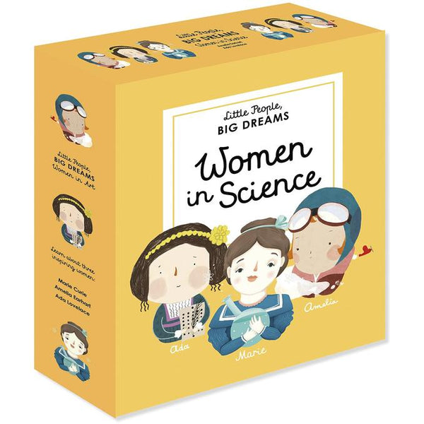 Women In Science 3 Book Gift Set