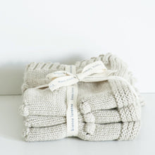 Load image into Gallery viewer, Oatmeal Washcloths | Bianca Lorenne