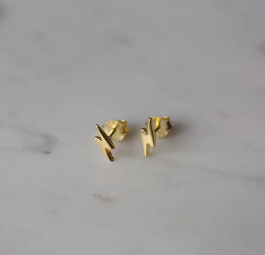Sophie | Flashy Studs | Gold