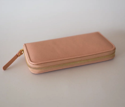 Sophie | Matte Blush Wallet