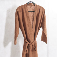 Load image into Gallery viewer, Bianca Lorenne | House coat | Sashiko cinnamon
