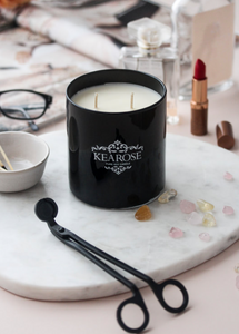 Kearose | Black Superior Candle | French Pear & Vanilla