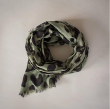 Load image into Gallery viewer, Sophie | Wild Maxi Scarf | Olive