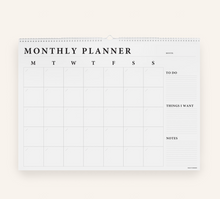 Load image into Gallery viewer, Monthly Wall Planner | Made Of Tomorrow